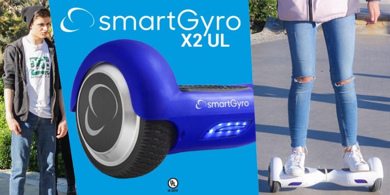 Presentación sobre SmartGyro X2 UL Hoverboard