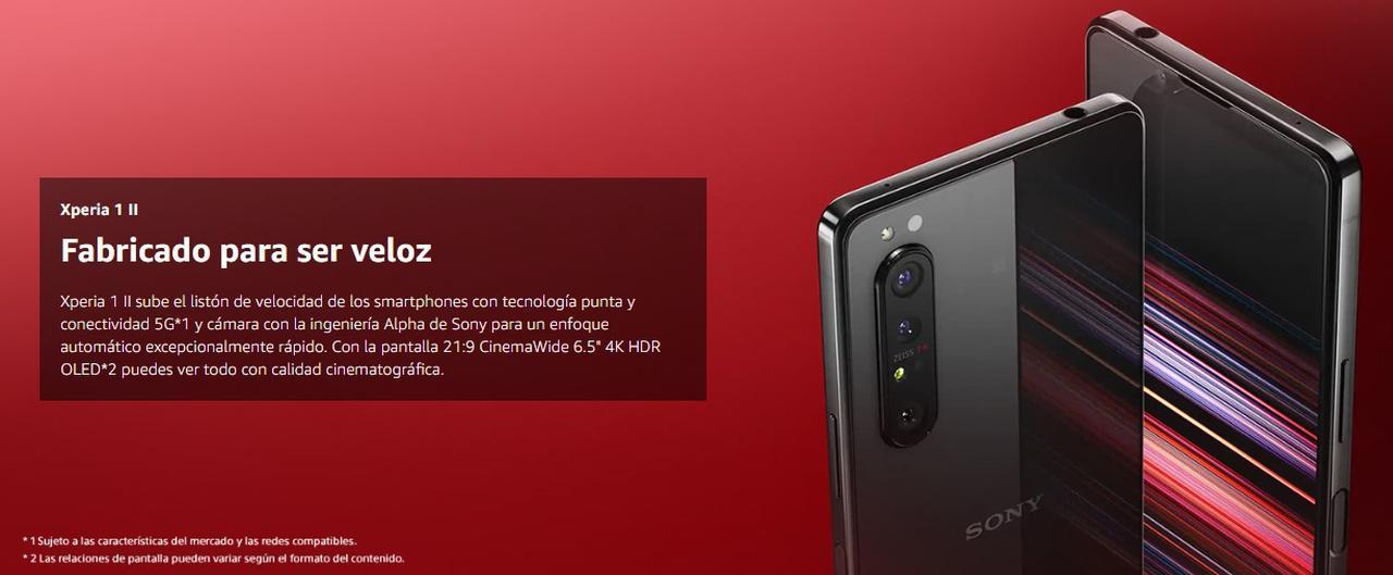 Presentación sobre Sony Xperia 1 II