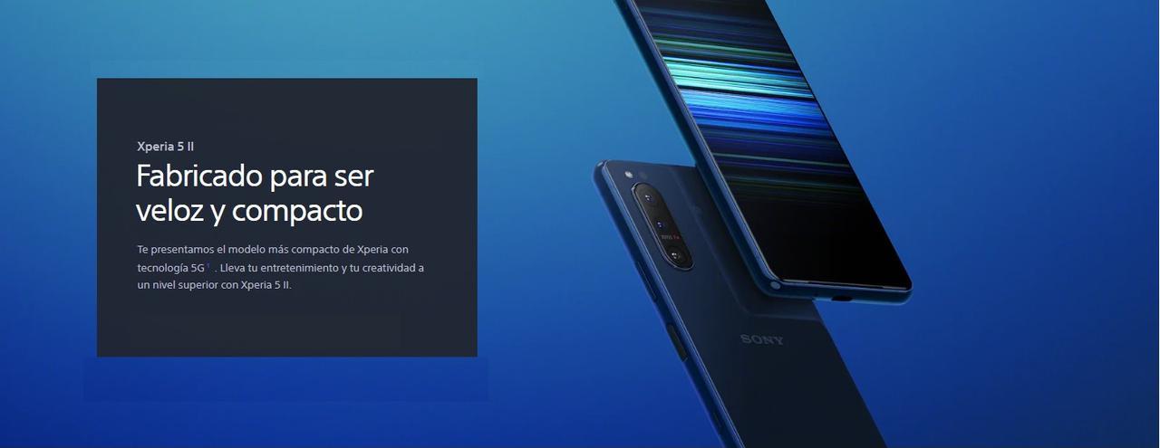 Presentación sobre Sony Xperia 5 II