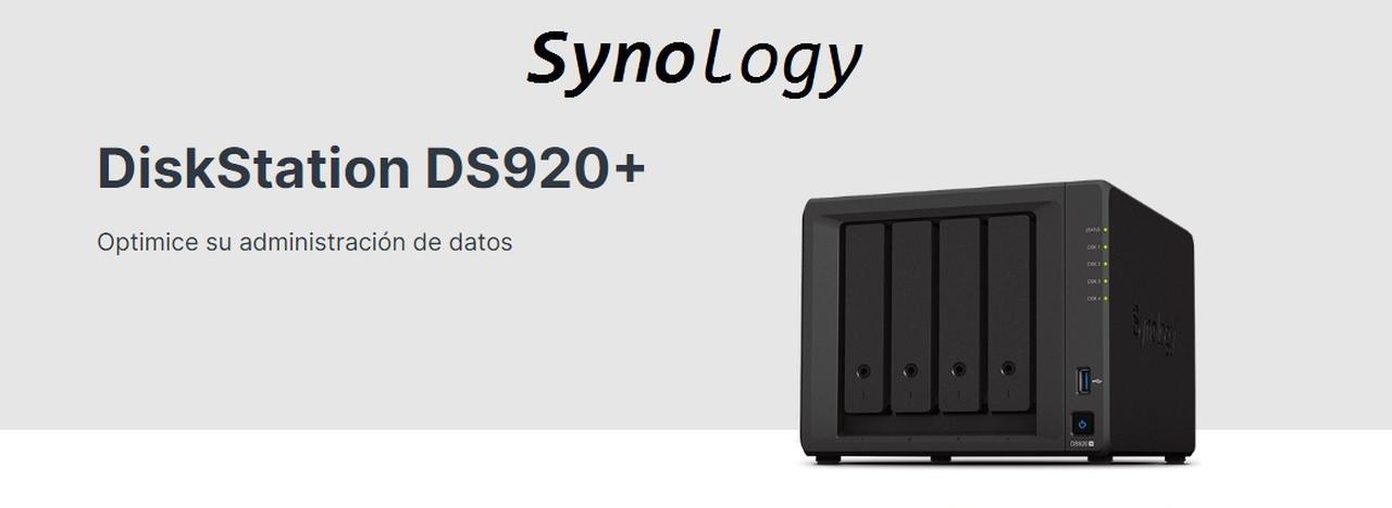 Presentación sobre Synology DS920+ NAS