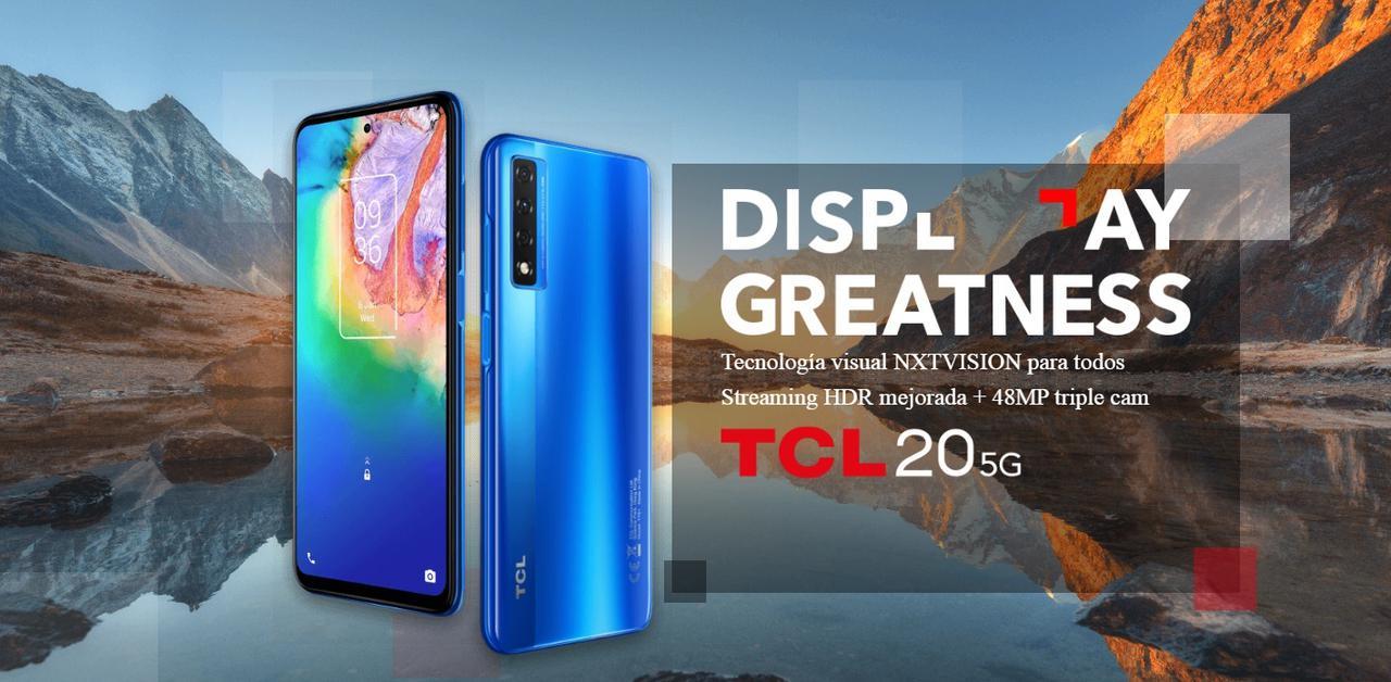 Presentación sobre TCL 20 5G