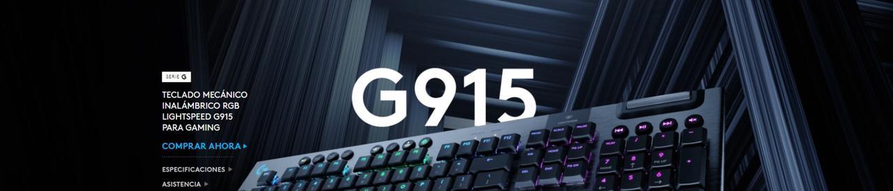 Presentación sobre Teclado Logitech G915