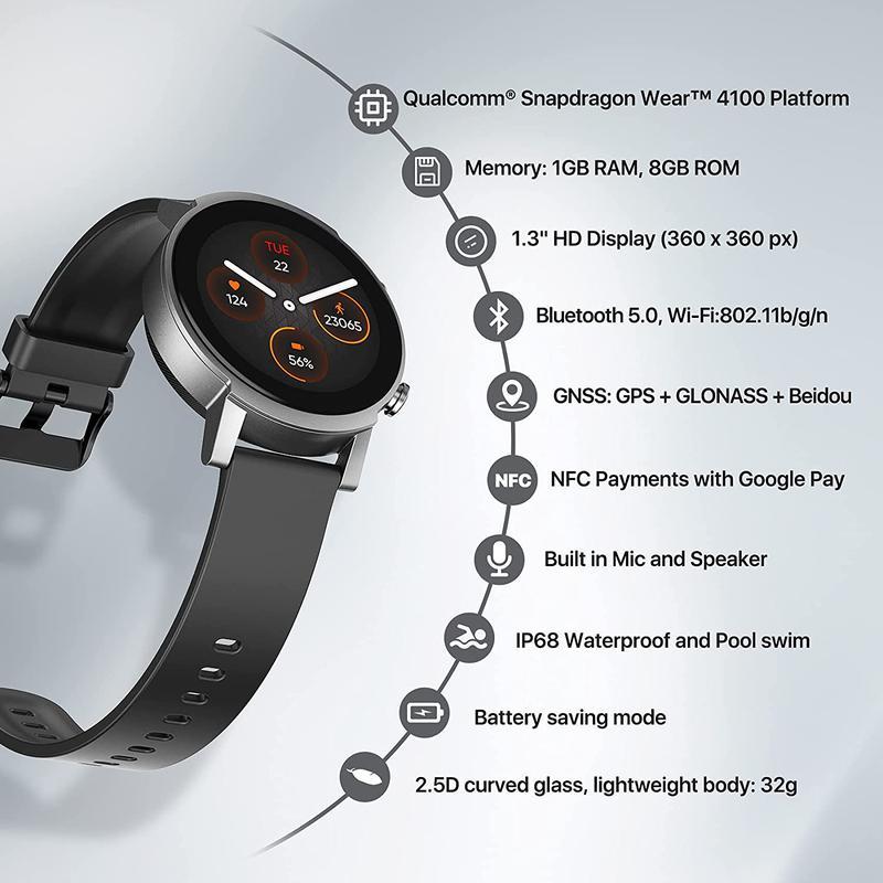 Imagen de TICWATCH E3 Smartwatch número 1