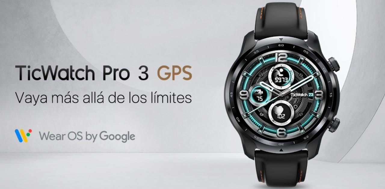 Presentación sobre Ticwatch Pro 3