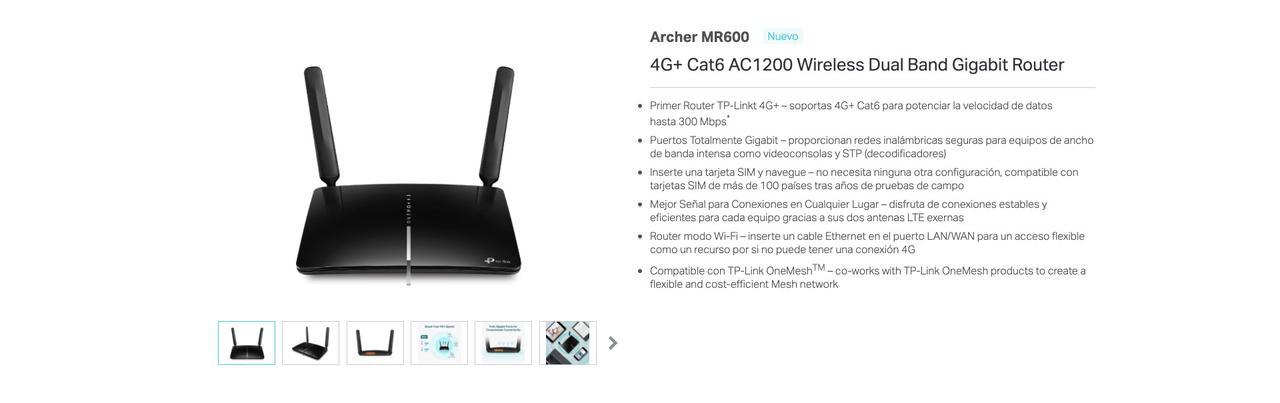 Presentación sobre TP-Link Archer MR600