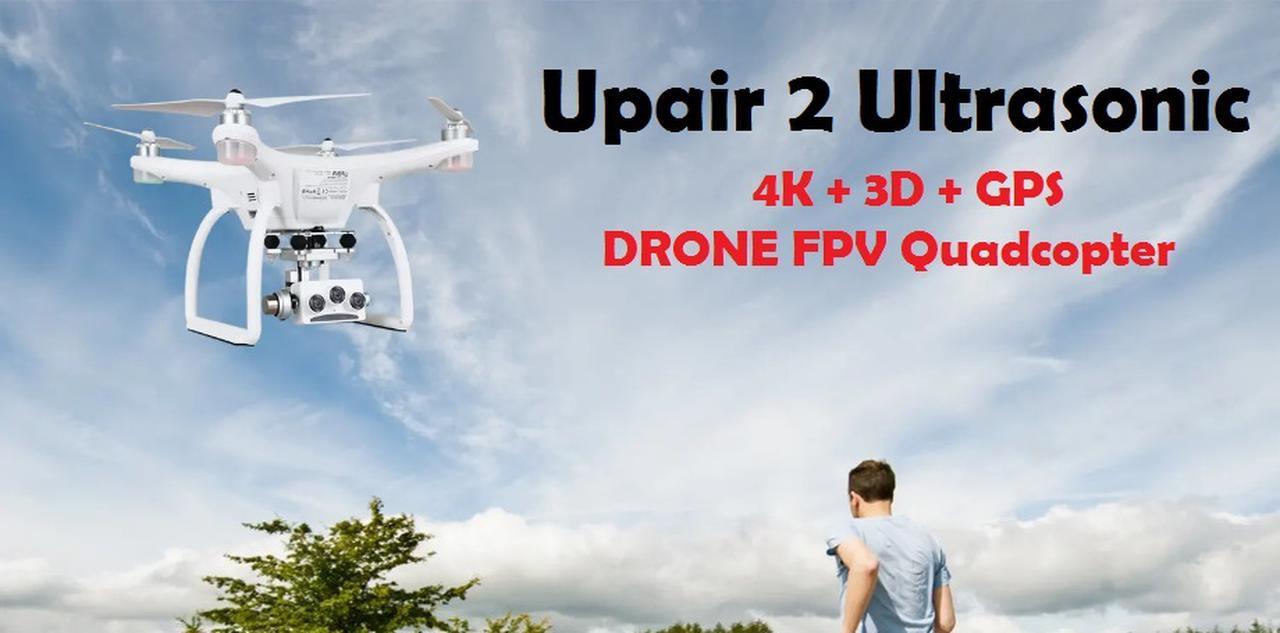 Presentación sobre UPAIR 2 ULTRASONIC 4K 3D GPS