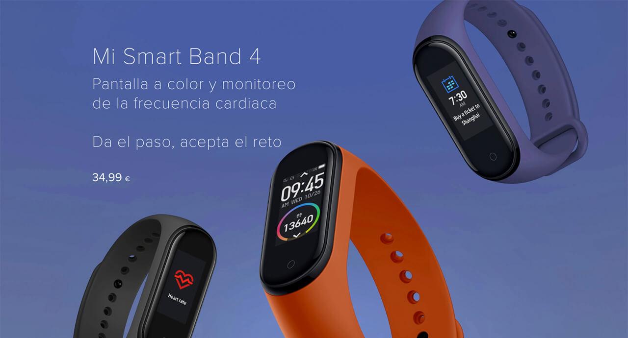 Presentación sobre Xiaomi Band 4