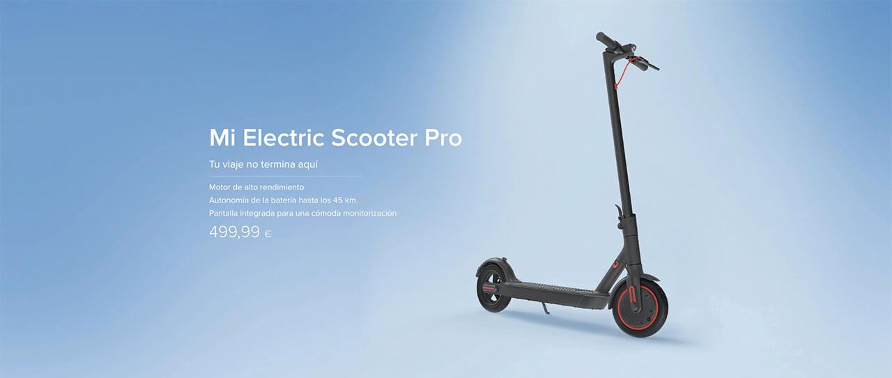 Presentación sobre Xiaomi Electric Scooter Pro