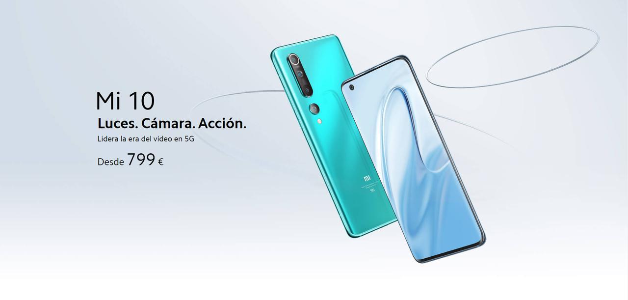 Presentación sobre Xiaomi Mi 10