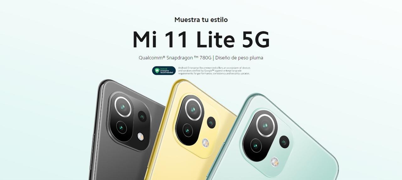 Presentación sobre Xiaomi Mi 11 Lite 5G