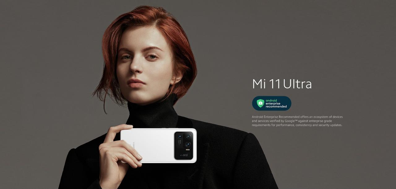 Presentación sobre Xiaomi Mi 11 Ultra