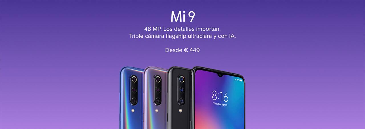 Presentación sobre Xiaomi Mi 9