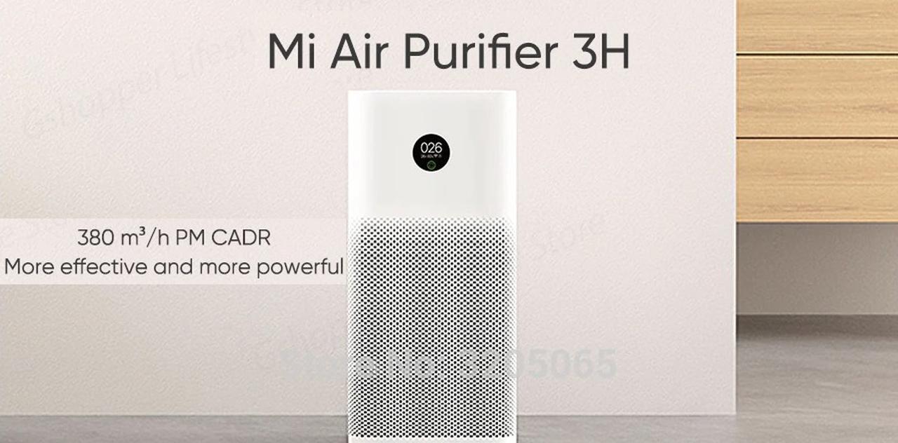 Presentación sobre Xiaomi Mi Air Purifier 3H