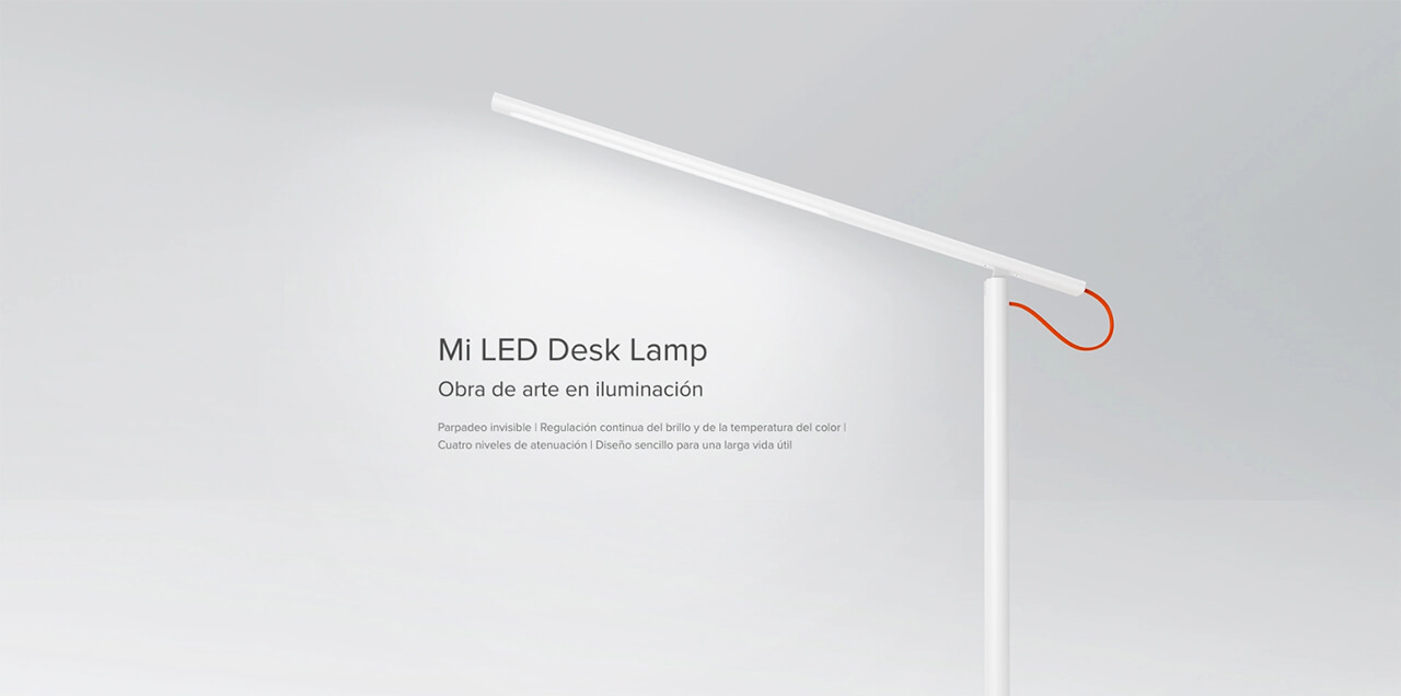 Presentación sobre Xiaomi Mi LED Desk Lamp