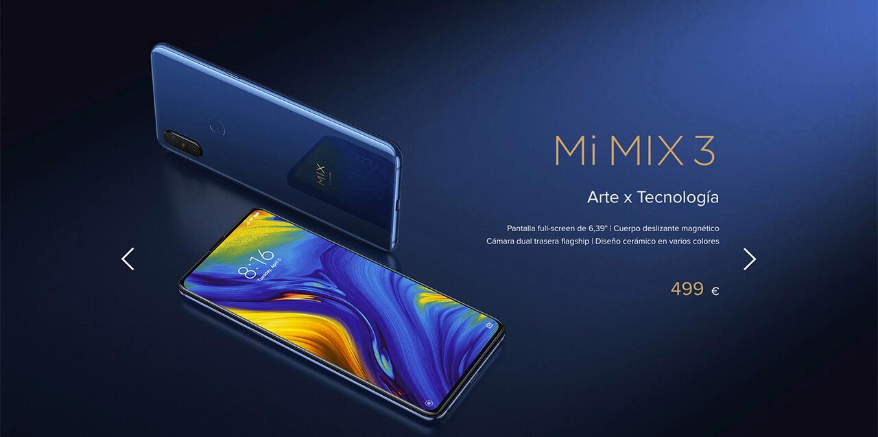 Presentación sobre Xiaomi Mi Mix 3