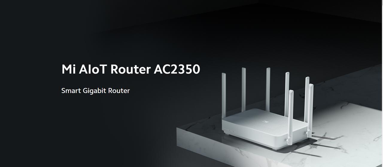 Presentación sobre Xiaomi Mi Router AIoT AC2350