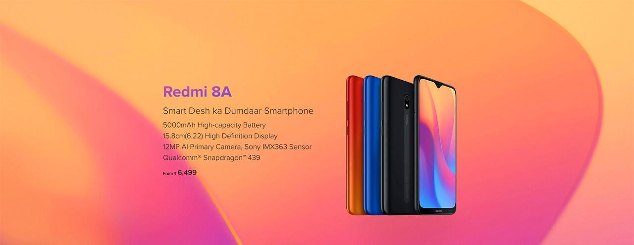 Presentación sobre Xiaomi Redmi 8A