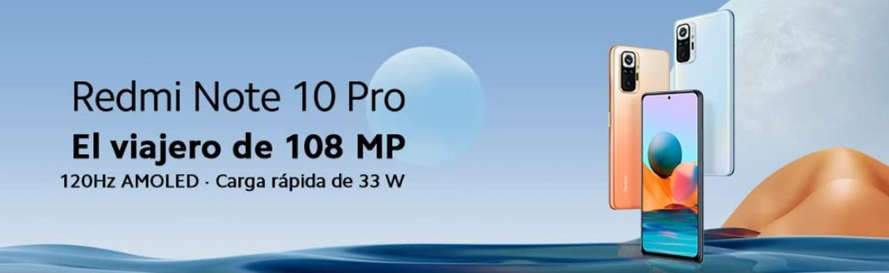 Presentación sobre Xiaomi Redmi Note 10 Pro