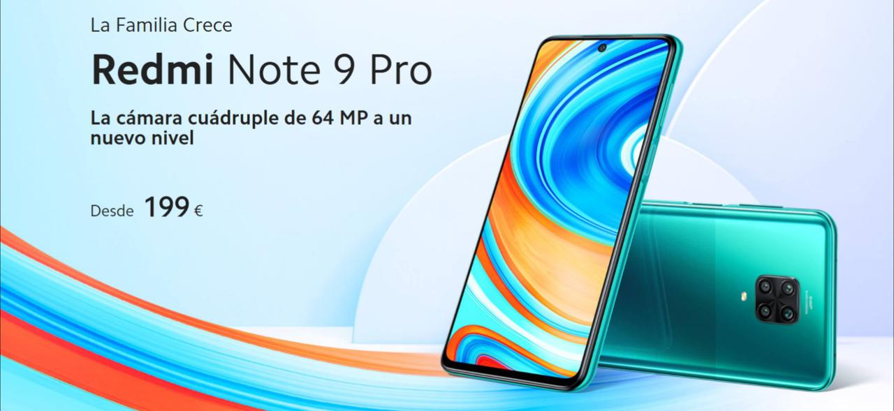 Presentación sobre Xiaomi Redmi Note 9 Pro