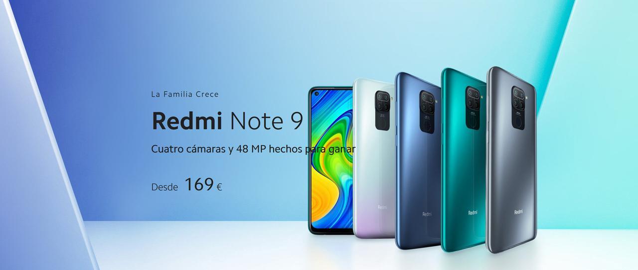 Presentación sobre Xiaomi Redmi Note 9