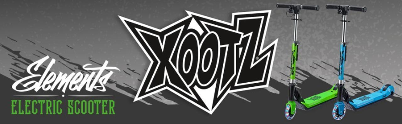 Presentación sobre Xootz Elements Scooter eléctrico para niños